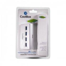 Hub USB CoolBox COO-HU4ALU3...